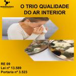 O TRIO QUALIDADE DO AR INTERIOR